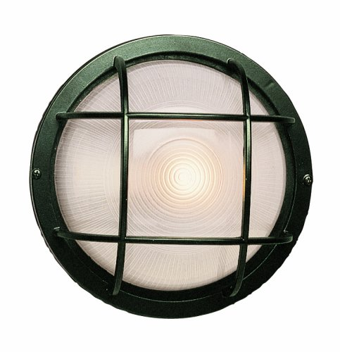 "Trans Globe Lighting 41515 RT Outdoor Aria 10"" Bulkhead, Rust"