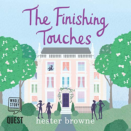 The Finishing Touches audiobook cover art