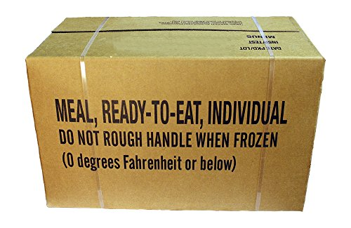 MRE Meals Ready to Eat, US Rationen Epa Case A oder B (Case B INSP 2019)