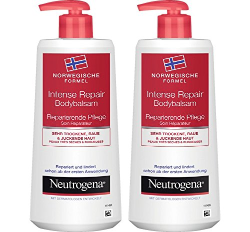 Neutrogena Norwegische Formel Intense Repair Bodybalsam - 2 x 250ml