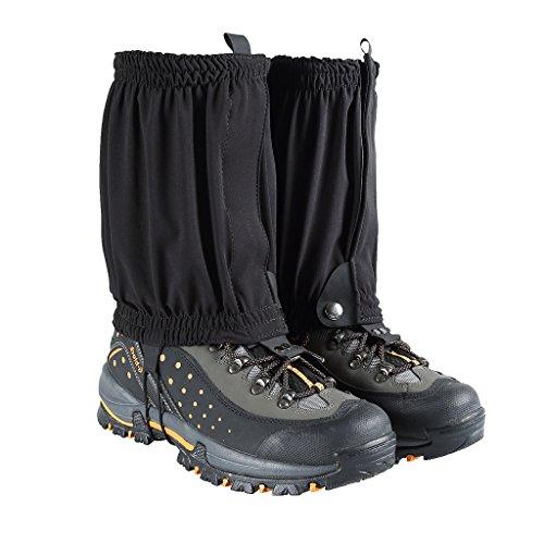 Pour l/'ext/érieur la randonn/ée Paire de gu/êtres imperm/éables Noir HenMerry l/'escalade la marche la neige