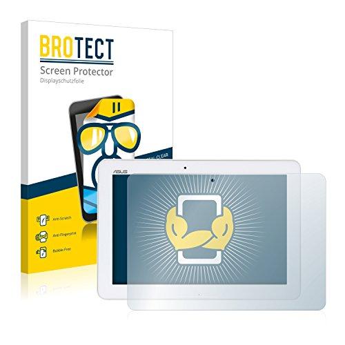 BROTECT Schutzfolie kompatibel mit Asus Transformer Pad TF103CG 3G (2 Stück) klare Bildschirmschutz-Folie
