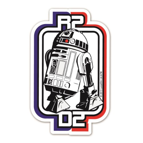 Logoshirt–Star-Wars-Magnet, Motiv: Darth Maul Millennium Falke R2 D2