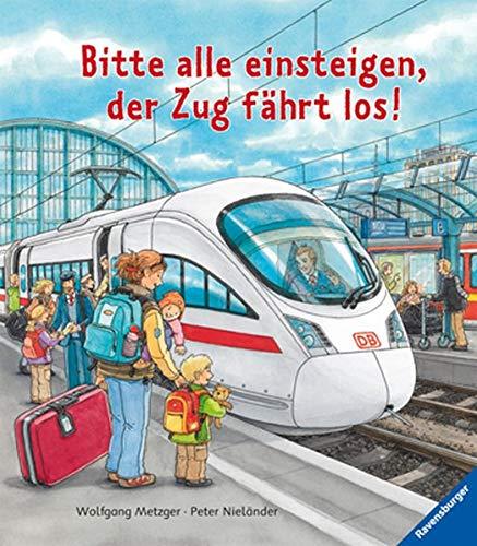 Bitte alle einsteigen, der Zug fährt los!
