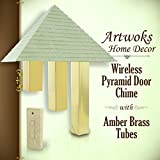 Angelo Brothers Artworks Home Dcor Wireless Pyramid Door Chime