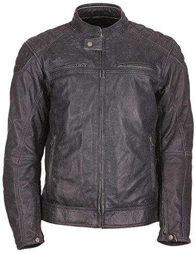 Modeka MEMBER Lederjacke Herren Motorrad Urban - schwarz Größe XL