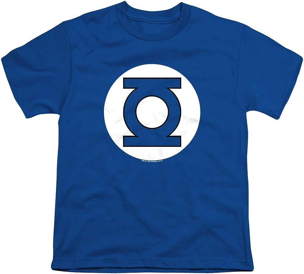 DC Green Lantern Logo Unisex Youth T Shirt, Royal, X-Large