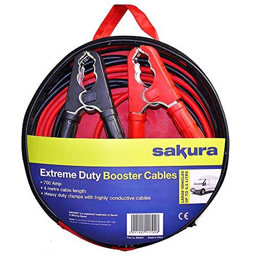 Sakura SS3627 Câbles de Démarrage de Batterie Très Grande Ca