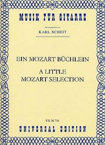 Ein Mozart Buechlein. Gitarre