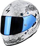 Scorpion - Casco de moto EXO-510 Air Azalea blanco perla-platino XXS