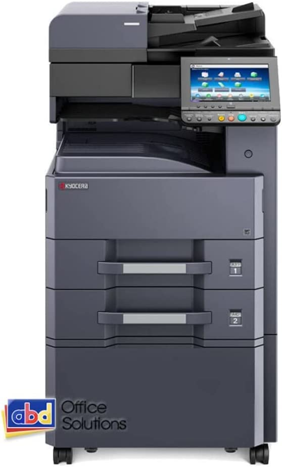 Kyocera TaskAlfa 3511i A4 Monochrome Laser Multifunction Copier - 35ppm, Copy, Print, Scan, Optional Fax & Finisher, Network, 2 x 500 Sheets Paper Drawers, 100 Sheets MPT Tray, Stand