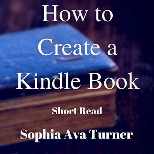 How to Create a Kindle Book audiobook cover art