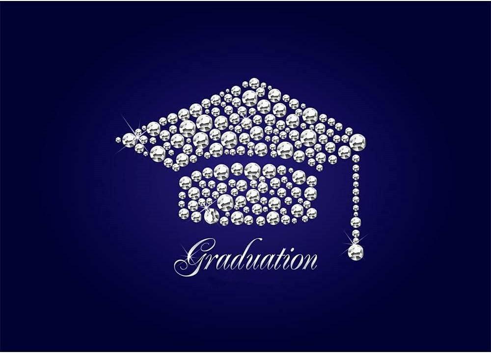 Diamond Sale SALE% OFF Graduation Cap 7x5 Sale SALE% OFF Photo Backdrop Class Grad of Congrats