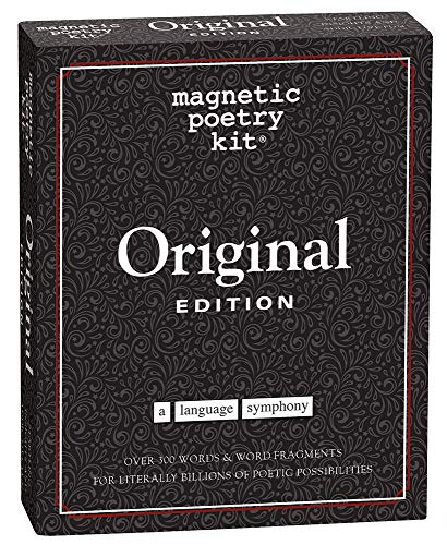 Magnetic Poetry Original Kit (Tin)