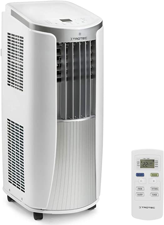 climatizzatore portatile a 9000 btu condizionatore d`aria locale trotec 1210002021 pac 2610 e