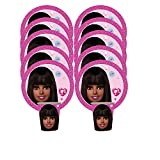 Black American Doll, Black Barbie Party Supplies, Pink Plates, Cups, Party Theme Doll kit, Dream House, Ballons, Birthday Girl, Wedding, Baby Shower