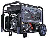 Pulsar G10KBN Space Gray 10,000 Watt Portable Dual-Fuel Generator with...