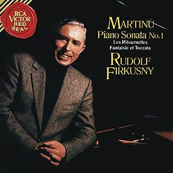 Martinu: Piano Sonata No. 1, H. 350, Les Ritournelles, H. 227 & Fantaisie et Toccata, H. 281