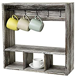 Coffee Station cup shelves