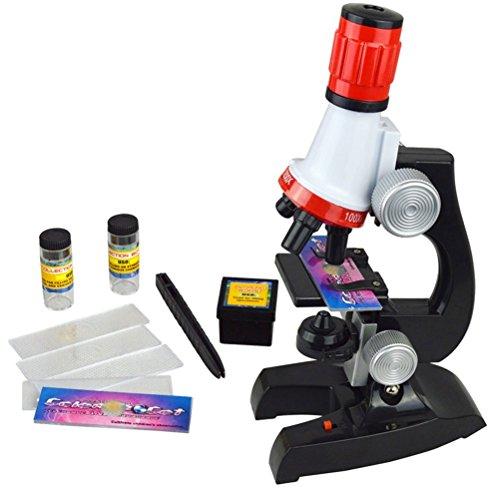 Xrten Scientific Mikroskop Spielzeug,Kinder Mikroskop Set Pädagogisch Mikroskop für Früherziehung
