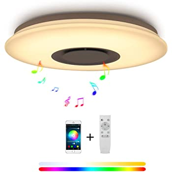 36W LED Deckenleuchte RGB Farbwechsel Kontroller Lampe Deckenlampe Fernbedienung