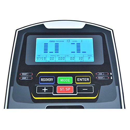 EnjoyFit® Crosstrainer Heimtrainer Ergometer Bild 4*