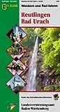 Reutlingen Bad Urach: Wandern und Radfahren 1:35000