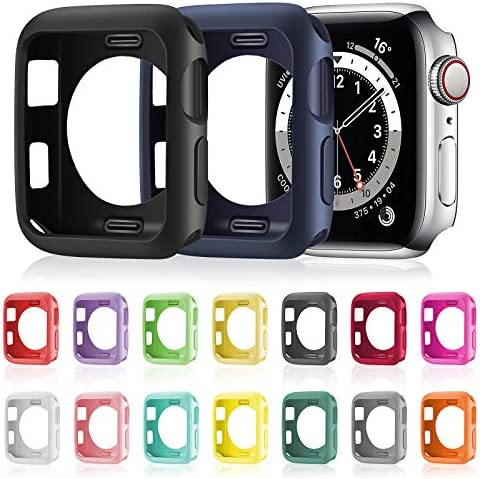 16 Pieces Soft TPU Protective Watch Case Anti Scratch Silicone Protector Soft Flexible TPU Thin product image