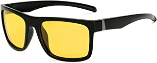 SGJFZD Men's Sports Polarized Sunglasses Men's Outdoor Riding Glasses Windshield Sunglasses UV400 (Color : Yellow)