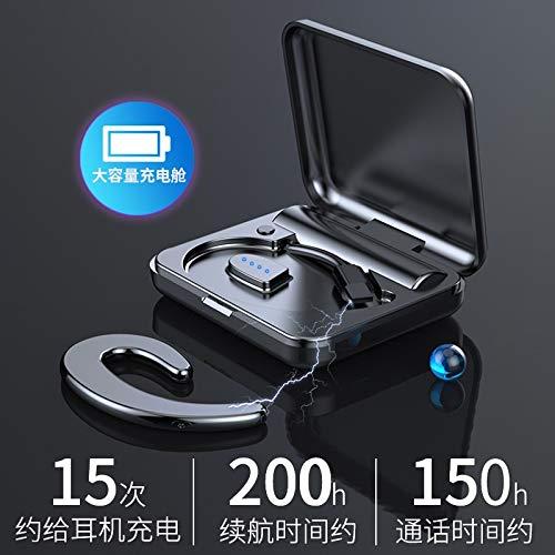 Factory directe tape cartridge enkele oor Amoi S9 draadloze Bluetooth headset oor stijl Mini Universal een generatie van vet (Kleur: Technologie zilveren riem magazijn)