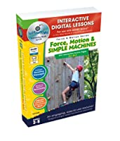 Force, Motion & Simple Machines, Grades 3-8 [With User Guide]