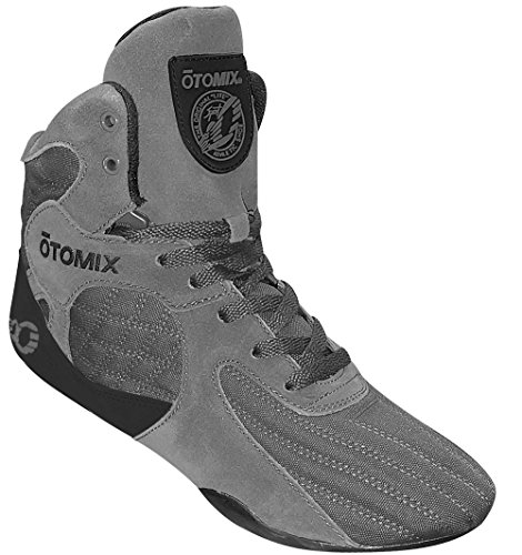 Otomix Men's Stingray Escape Bodybuilding Lifting MMA & Wrestling Shoes Grey 10.5