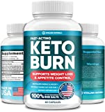 Pure BHB Exogenous Ketones Keto Diet Pills - Effective Keto Burn Made in United States - Advanced Keto Ketosis Supplement by Vitalina Natura Support