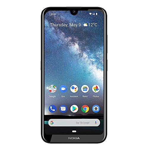 "Nokia 2.2- Android 9.0 Pie - 32 GB - Single Sim Unlocked Smartphone (AT&T/T-Mobile/Metropcs/Cricket/Mint) - 5.71"" HD+ Screen - Steel - U.S. Warranty"