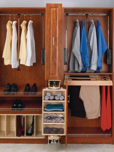 Review Rev-A-Shelf Armoire Storage