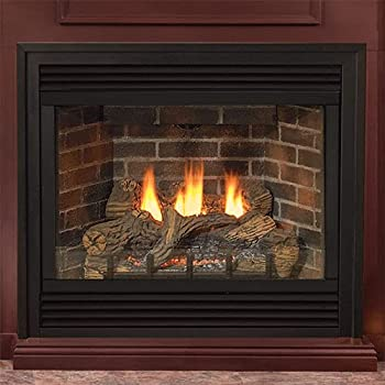 vented gas fireplace insert