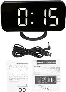 SunshineFace Multifunktionell digital väckarklocka snooze timing funktion lätt justerbar LED-klocka
