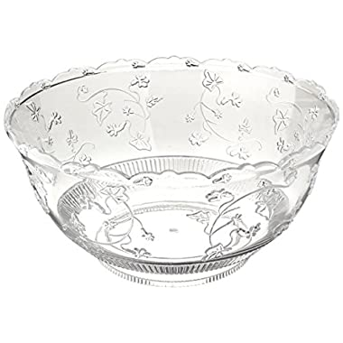 Party Dimensions 8 Quart Clear Punch Bowl