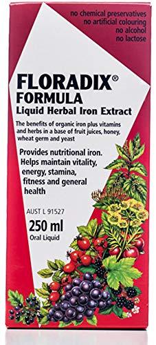 Salus Floradix Hierro y Vitaminas - 250 ml