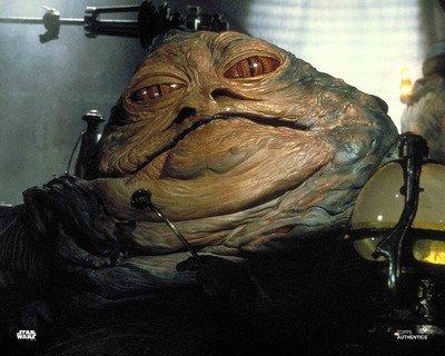 WonderClub Star Wars Authentics: Michael Carter as Jabba The Hutt in 'Star Wars: Return of The Jedi' 11