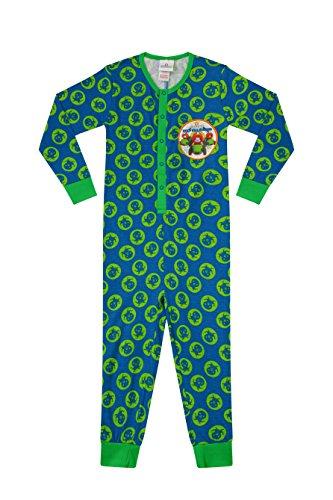 ThePyjamaFactory - Pijama de una pieza - para niño Azul azul