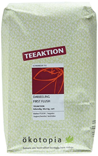 Ökotopia Teeaktion - Darjeeling First Flush, 1er Pack (1 x 1000 g)