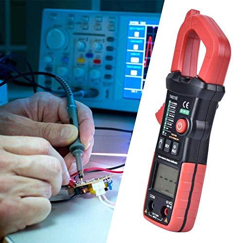 Yongenee Capacitancia Tester, DC capacitancia probador metro de la abrazadera del multímetro digital de mano automático amperímetro AC Herramientas industriales