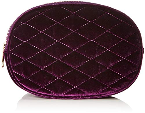 New Look Velvet Bumbag, Damen Münzbörse, Violett (Bright Purple), 21x15x21 cm (W x H L)