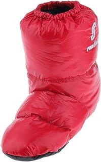 SM SunniMix Chaussons Duvet De Canard Doux Hiver Chaud Bottines Chaussures De Camping