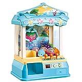 Garra Toy Grabber la Máquina de los niños Funcionan con Monedas manija Clip muñecas Catch Caramelo Rompecabezas Pequeño Hogar Consola de Juegos Mini Máquina de Garra