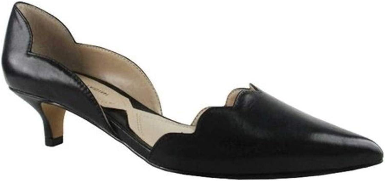Adrienne Vittadini Womens serebe Pointed Toe Classic Pumps, Black-sn, Size 6.5