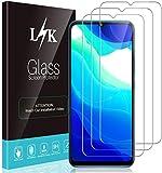 LϟK 3 Pack Protector de Pantalla Compatible con Xiaomi Mi 10 Lite 5G - Cristal Vidrio Templado - Premium Dureza 9H Funda Compatible Sin Burbujas Kit Fácil de Instalar