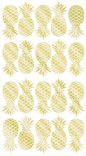 WallPops WPK1908 Pineapple Wall Art Kit, Metallic