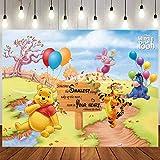 Winnie Backdrop | Baby Shower | Winnie The Pooh Background | Newborn | Party Supplies | Birthday Banner